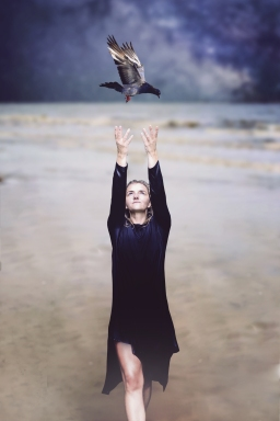 1 ezo_oneir_surreal_beach_pigeon