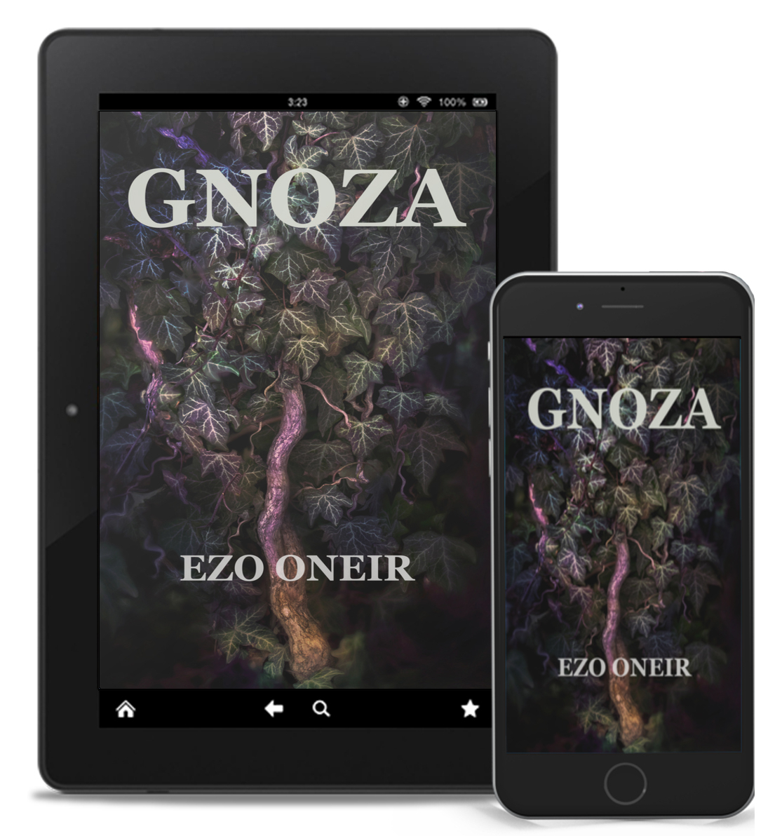 Ezo Oneir powieść dark fantasy. Fotografia poza rzeczywistością. Ivy. Wydawnictwo Ezo Oneir. Ebook PDF MOBI EPUB