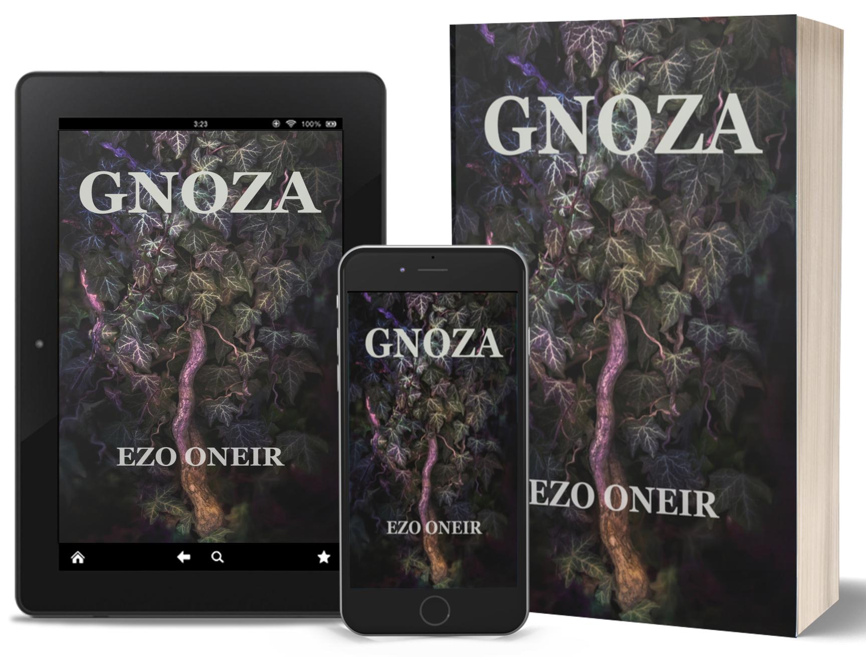 Ezo Oneir powieść dark fantasy. Fotografia poza rzeczywistością. Ivy. Wydawnictwo Ezo Oneir